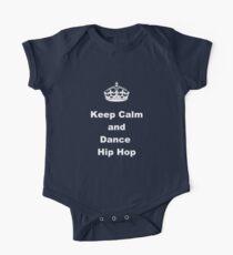 Keep Calm and Dance Hip Hop One Piece - Short Sleeve