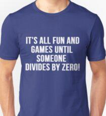 Dividing by Zero T-Shirt