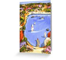 Cool water Greeting Card