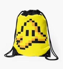 8-Bit Nintendo Mario Kart Banana Peel Drawstring Bag