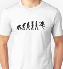 Evolution Ski Freestyle Unisex T-Shirt
