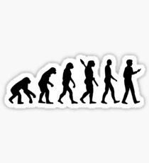 Evolution Cell Smartphone Sticker