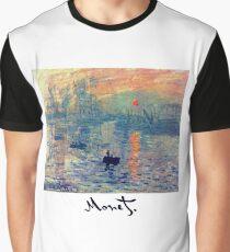 Monet: Impressions of Sunrise Graphic T-Shirt