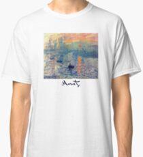 Monet: Impressions of Sunrise Classic T-Shirt