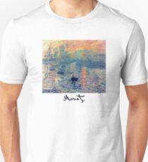 Monet: Impressions of Sunrise Unisex T-Shirt