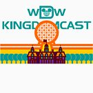 Kingdomcast Vintage logo by wdwkingdomcast