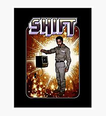 Shift! You bad mother-get back to work! Photographic Print
