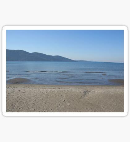 The Datca Peninsula (From Akyaka Beach) Sticker