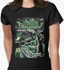 YUMMY TENTACLE CEREALS! Women's Fitted T-Shirt