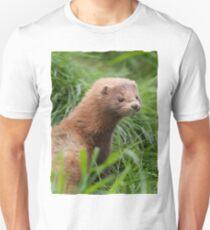 American Mink (Neovison vison) Unisex T-Shirt