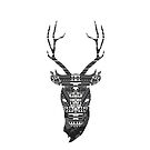 Aztec Deer by stuarthole