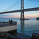 Two at the Bay Bridge by James Watkins