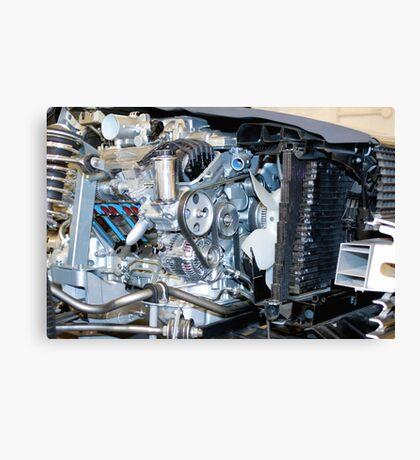 Cutaway car engine Canvas Print