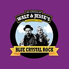 WALT AND JESSE'S BLUE CRYSTAL ROCK by Chimpking