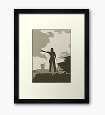 The Walking Dead Armed and Ready Framed Print