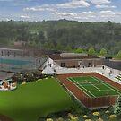 New Stadium TennisCenter by Ronald Hart