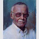 Stan Lee 2   water color by Josef Rubinstein