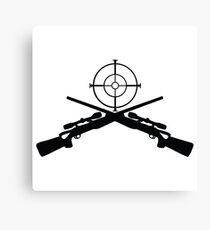 sniper target video game gamer Canvas Print