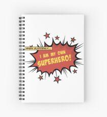 Superhero Spiral Notebook