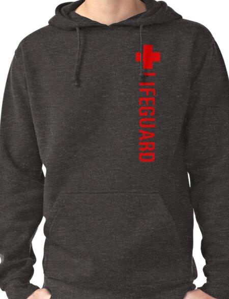 Lifeguard (Red Vertical Variant) Hoodie Pullover Hoodie