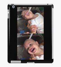 small child water  iPad Case/Skin