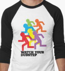 Watch Your Dubstep Men's Baseball ¾ T-Shirt