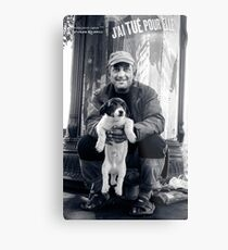 The vagabond and the puppet dog Metal Print