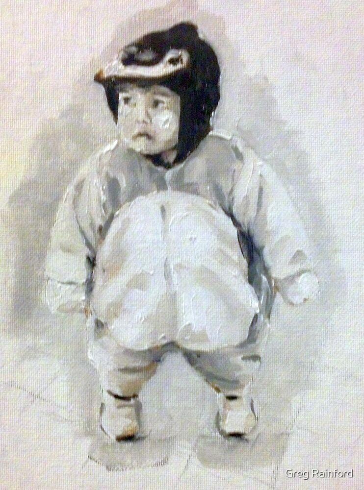 Penguin Kid by Greg Rainford