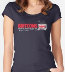 What's on the Tele? Women's Fitted Scoop T-Shirt