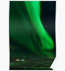 Iceland Northern Lights Poster