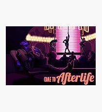 Visit Afterlife Photographic Print