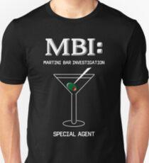 MBI: Martini Bar Investigation T-Shirt