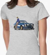 Paul Walker interpretation art - Fast Furious 7 Womens Fitted T-Shirt