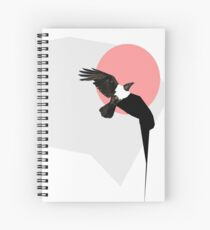 Crow Spiral Notebook
