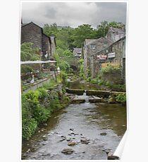 Stock Ghyll, Ambleside, U.K Poster