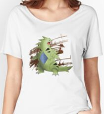 Tyranitar with Brown Rocky Scratches Women's Relaxed Fit T-Shirt