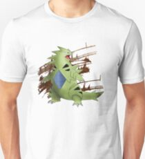 Tyranitar with Brown Rocky Scratches T-Shirt