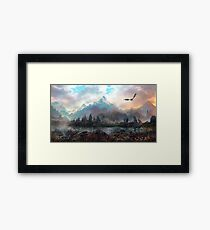 Dragon Mountain Framed Print