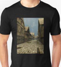 Deserted Mediaeval Street Scene T-Shirt