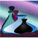 Five Vases by IrisGelbart