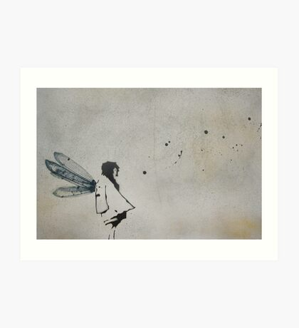 'i want to fly' Art Print