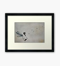 'i want to fly' Framed Print