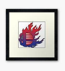 Super Smash Bros America Framed Print