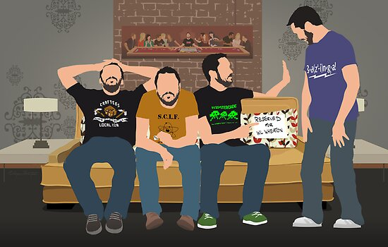 Tabletop: Wil Wheaton on the Couch by Wayne Dorrington