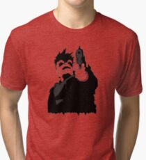 """look me in the eye and tell me i'm crazy"" Tri-blend T-Shirt"