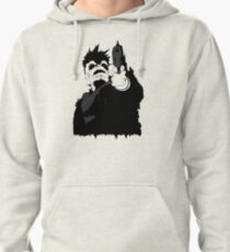 """""""look me in the eye and tell me i'm crazy"""" Pullover Hoodie"""