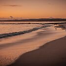 Hyams Beach at sunrise by Chris Brunton