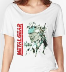 Metal Gear Solid Women's Relaxed Fit T-Shirt