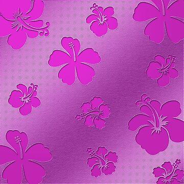 Aluminum Flowers pink von fuxart