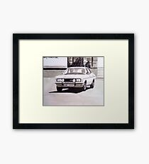 'The Sweeney' Ford Cortina Mk.3 2000GL Framed Print